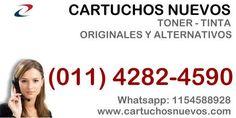 Buscas cartuchos nuevos de toner o tinta? original o alternativo? www.cartuchosnuevos.com