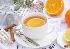Zimowa herbata z cynamonem i cytrusową nutką. - DoradcaSmaku.pl Tea Cups, Tableware, Ethnic Recipes, Food, Coffee, Kaffee, Dinnerware, Dishes, Teacup