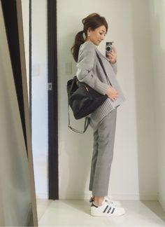 今日のコーデ の画像 星玲奈オフィシャルブログ「Reina's Diary」Powered by Ameba Japanese Outfits, Office Fashion, Daily Wear, Fasion, Work Wear, Cool Style, Womens Fashion, Ladies Fashion, Cute Outfits