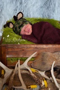 Crochet by Dugan's Girls~Little Buck Beanie~  search Dugan's Girls on fb    https://www.facebook.com/pages/Dugans-Girls/147396202020393  #MadMadMakers