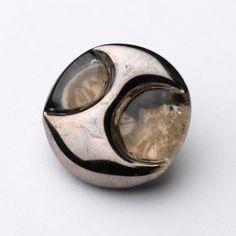 Claire & Grant FEATHERSTON (Australian Designer) Button - NGV website. #buttonlovers