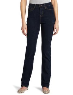 Levi`s 512 Misses Perfectly Slimming Straight Leg Jean with Tummy Slimming Panel $36.99