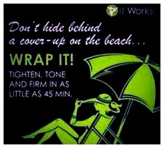 Don't  hide behind a cover-up on the beach this summer! Tighten, tone, and firm any where from chin to shin! Don't  wait order today!  call or text 414-758-0077 or shop on line at katsbodysculpting.com    #tightenandtone #beach #bikini #swimsuit #wrappingwednesday #legs #arms #tummy #lovehandles #saggyskin #saggy #skinnywraps #results #amazing #textme #moms #housewives #collegestudent #sister #bestfriend #ladiesnight #bodysculpting #vegas #milwaukee #denver #texas #summer #beautiful…