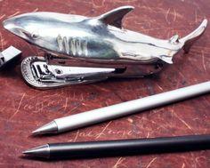 Shark Bite Stapler by Jac Zagoory Design - $130