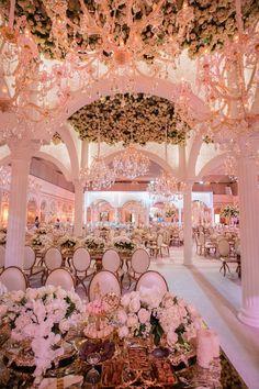 best ideas about Extravagant wedding decor on . Wedding Goals, Wedding Themes, Wedding Venues, Wedding Planning, Wedding Decorations, Wedding Dresses, Royal Wedding Venue, Event Planning, Wedding Aisles
