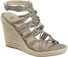 Johnston & Murphy Mindy Braided Ankle-Strap Wedge