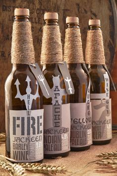 Hell Fire Barley Wine, Indian Pale Ale and Wheat Beer. I want to drink all of these...