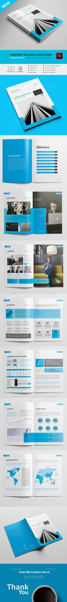 Magazine Design Template InDesign INDD - 24 Pages A4  US Letter
