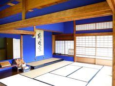 Photo Blue, Japanese House, My Photos, Loft, House Design, Architecture, Furniture, Home Decor, Arquitetura