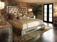 MArge Carson bed for Master - not in this finish but similar style??