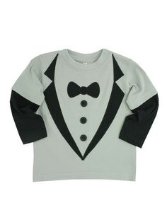 Tuxedo Tee by BUbby & Belle, on sale now on #Gilt. #kids #style