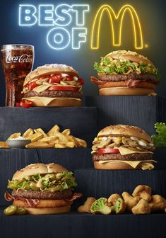 Commisions for McDonald's Poland Food Graphic Design, Menu Design, Advertising Photography, Food Photography, Richard And Maurice Mcdonald, Fast Food Advertising, American Fast Food, Fast Food Restaurant, Kfc