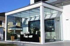 sichtschutzwände in marchtrenk – Google Suche Conservatory Prices, What Is A Conservatory, Modern Conservatory, Small Living Rooms, Living Room Designs, Sunroom Furniture, White Furniture, Glass Extension, Glass Room