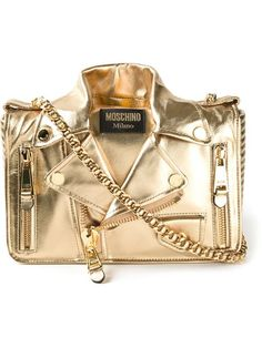 Shop Moschino large biker shoulder bag in Stefania Mode from the world's best independent boutiques at farfetch.com. Over 1000 designers from 300 boutiques in one website.