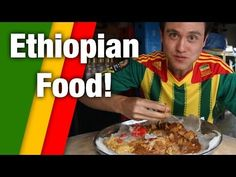 Irresistible Ethiopian Food - Tasty Meat Platter! - YouTube