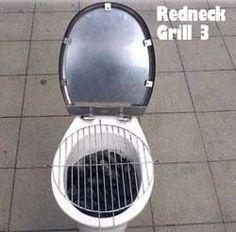 Redneck grill - Funny Redneck Pictures