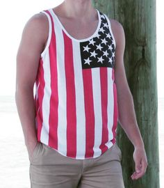 4th of july mens romper