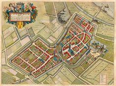 Culemborg (Culenburgum) 1649 Blaeu