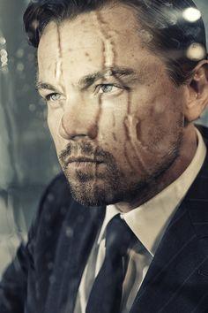Leonardo DiCaprio, photographed byKurt Iswarienko, 2013.