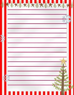 Stay At Home Mom Plans Printable Letter To Santa Part   Stay At