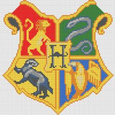 Geek Stitch  | Hogwarts Crest                                                                                                                                                                                 More