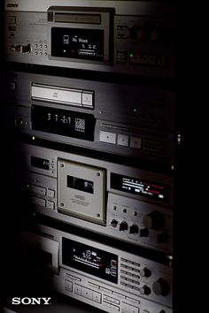 Analog Dreams • Vintage Sony ES