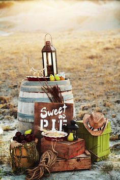 western wedding | Rustic Wedding Inspiration For Western Wedding