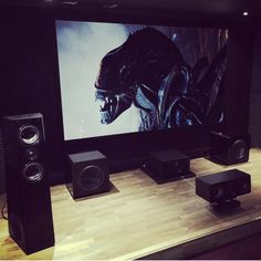 Basement Remodeling, Remodeling Ideas, Surround Sound Systems, Home Theater Rooms, Dolby Atmos, Home Cinemas, Visual Arts, Game Room, Beats