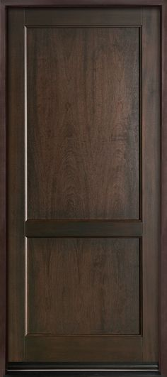 Entry Door in-Stock - Single - Solid (Euro Technology) Wood with Walnut & Prehung Exterior Single Door 96 80 FSC Wood Mahogany Solid ... pezcame.com