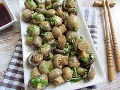 [New] The 10 Best Recipes Today (with Pictures) Marinated Mushrooms, Stuffed Mushrooms, Good Food, Yummy Food, Cooking Recipes, Healthy Recipes, Cook At Home, Russian Recipes, Food And Drink