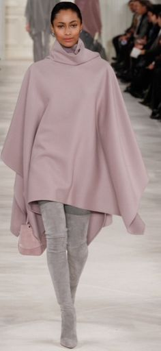 Ralph Lauren fall/winter 2014 collection – New York fashion week Mode Chic, Mode Style, Style Me, Fashion Week, High Fashion, Fashion Show, Womens Fashion, Nyc Fashion, Mode Outfits