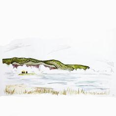 Beautiful art by talented artist  Follow artist @rhea_hanlon_art for more Hashtag #anartfeature to get your art featured!!! . . . #anart #art #artpop #artlover #artistsoninstagram #artoftheday #visuals #creative #nature #natureart #botanical #watercolors #watercolorpainting #mountains #plants #sea #river #cloud #cloudsea #relax #grass