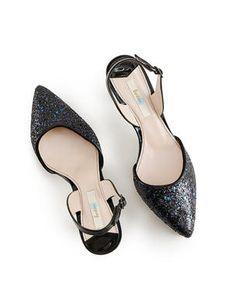 Sixties Slingback glitter