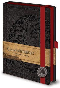 Game Of ThronesTargaryen - A5 Notitieboek - Merchandisehouse.nl