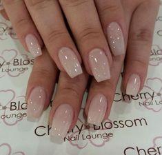 Cherry Blossom Nails, Cherry Nails, Best Acrylic Nails, Acrylic Nail Designs, Perfect Nails, Gorgeous Nails, Cute Nails, Pretty Nails, Classy Nails