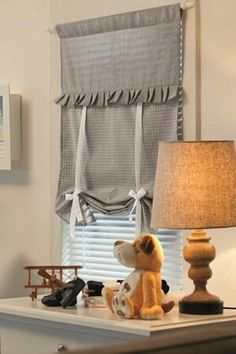 love these curtains Curtains With Blinds, Kitchen Curtains, Drapes Curtains, Valance, Window Coverings, Window Treatments, Diy Window Shades, Diy Projects Plans, Window Dressings
