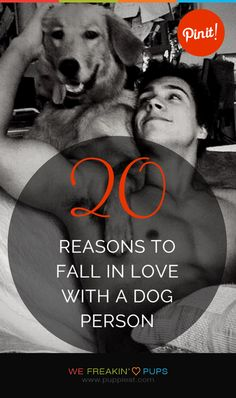 20 Reasons To Fall In Love With A Dog Person   #puppies #puppy #pup #dogs #dog #pets #pet #cute #cutest #love #adorable #funny #animal