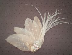 Hey, I found this really awesome Etsy listing at http://www.etsy.com/listing/66629074/wedding-feather-hair-accessory