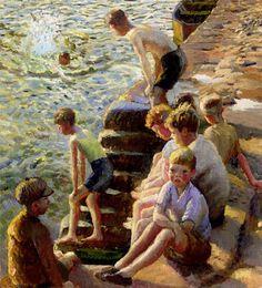 by Harold Harvey (1874-1941)