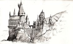 Hogwarts by francesco-segala.deviantart.com on @DeviantArt
