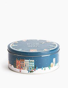 Shop this Embossed Round Christmas Tin at Marks & Spencer. Browse more styles at Marks & Spencer NZ Emboss, Kitchen Storage, Tin, Christmas, Xmas, Kitchen Organization, Pewter, Navidad, Noel