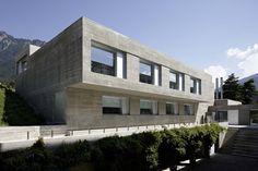 Project:Pädagogische Hochschule, Chur, CH  Office:Architekturbüro Horváth Herrengasse 7 7000 Chur Schweiz  Finished:2010 September