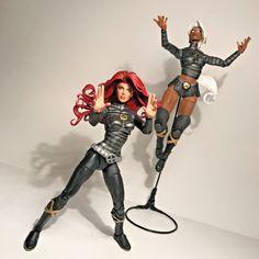 Marvel Legends Custom Bestfriends set Storm & Jean Grey New Mutant Varient | eBay