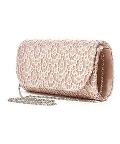 Another great find on #zulily! Champagne Lace Rectangle Shoulder Bag #zulilyfinds