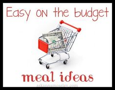 Easy on the budget meals and money saving ideas » Ask Anna