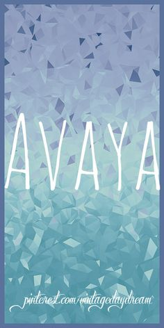 Baby Girl (or boy) Name: Avaya (uh-vay-uh). Possible Meaning(s) and Origin(s): To Arrive or Inform (Hindu) Cherished Place (Ukrainian). I couldn't find very much for this name. https://www.pinterest.com/vintagedaydream/baby-names/
