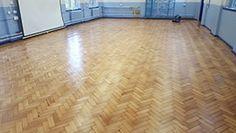 Pitch pine parquet floor, restored by 1 Stop Floor Care #parquet