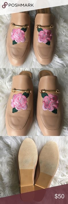 Floral Loafer Never worn. New without tags. No box. Catherine Malandrino Shoes Flats & Loafers
