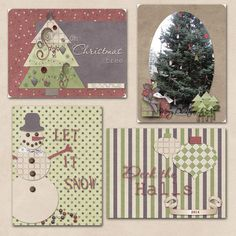 Ready for those project life/pocket card layouts after Christmas.  Using Cozy Christmas by Dandelion Dust Designs http://scraptakeout.com/shoppe/Cozy-Christmas-By-Dandelion-Dust-Designs.html, with Pocket Card templates by le Pinguoin Designs http://scraptakeout.com/shoppe/Pocket-Cards-Christmas.html