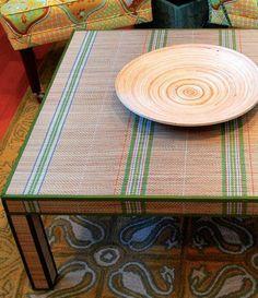 DIY Furniture  : DIY  mark montano??s mat-covered table